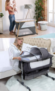 Portable cots for travel